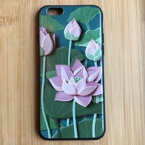 Accessories - NEW Iphone 6/6s Floral Lotus 3D Case